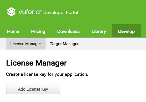 Add License Key Button