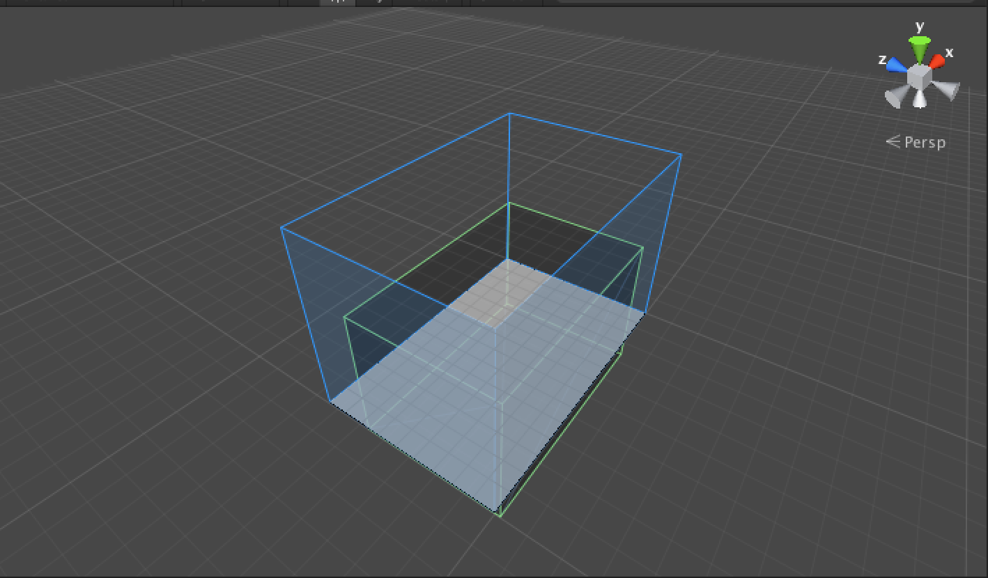 Bounding Box in Scene View