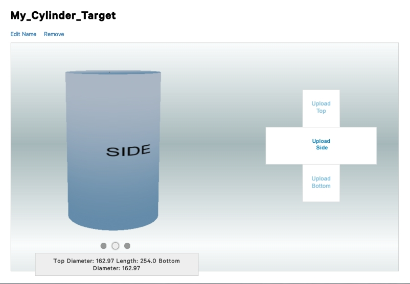 Multi Target Slide selection