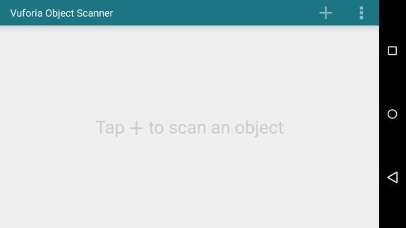 Description: VOS app home screen