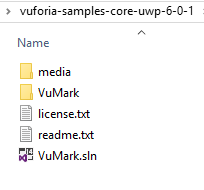 Getting Started with Vuforia for Windows 10 Development